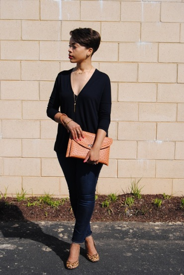 What I'm Wearing: Plunging Neckline