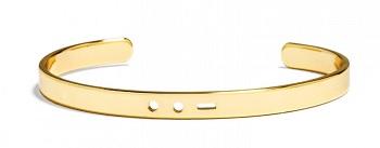 Morse Code Cuff, $32, baublebar.com