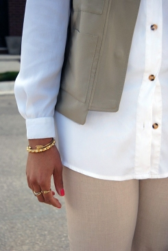 What I'm Wearing: Nothing But Neutrals