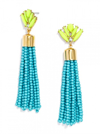 Acid Fringe Earrings, $28, baublebar.com