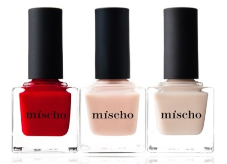 Mother's Day Nail Lacquer Set (in Good Kisser, The Tents & Fait Accompli), $54, mischobeauty.com