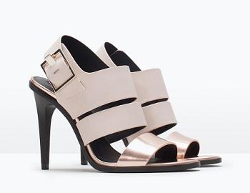 Trf High-Heel Sandals, $29.95 (marked down from $59.90), zara.com