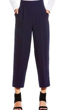 High Waist Wide Leg Pant, $74.99, vincecamuto.com