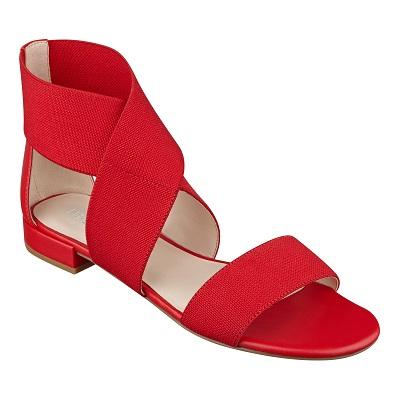 Whataday Flat Sandals, $51.75, ninewest.com: