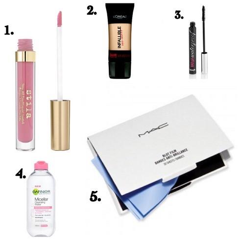 Sweatproof Beauty Products