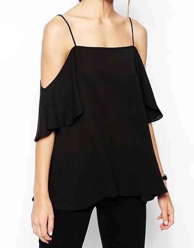 ASOS Cold Shoulder Cami Top, $33, asos.com