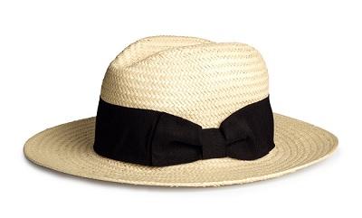 Straw Hat, $14.99, hm.com