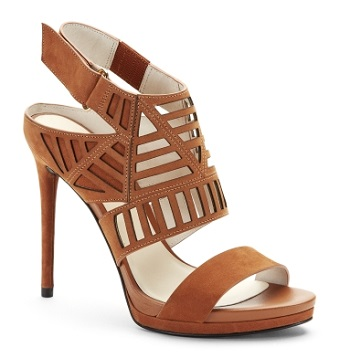 Niko Cutout Suede Heel, $44.99 (marked down from $130), kennethcole.com