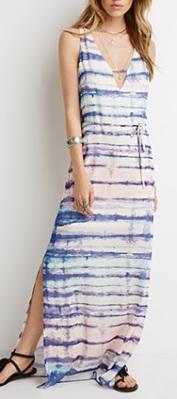 Watercolor Print Maxi Dress, $24.90, forever21.com