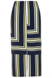 Striped Split Midi Skirt, $68, topshop.com