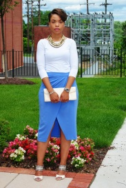 What I'm Wearing: Wrap Skirt