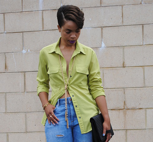 What I'm Wearing: Distressed Jeans