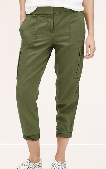 Fab Finds Under $100: Cropped Cargo Pants
