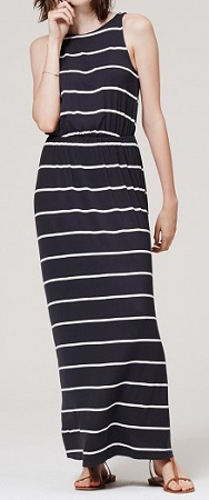 Striped Maxi Dress, $39.75 (marked down from $79.50), loft.com