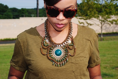 What I'm Wearing: Statement Necklace