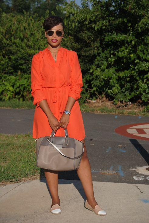 What I'm Wearing: Shirtdress