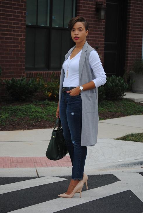 What I'm Wearing: Longline Vest
