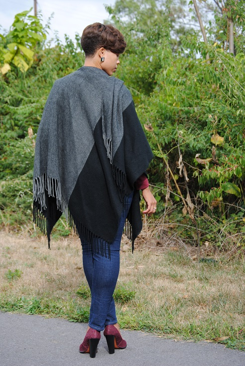 What I'm Wearing: Fringe Cape