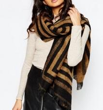 River Island Stripe Blanket Scarf, $40, asos.com