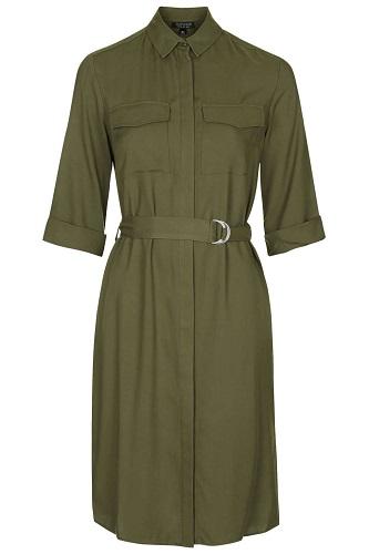 Utility Shirt Dress, $85, topshop.com
