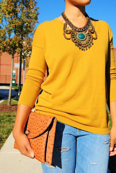 What I'm Wearing: Fall Colors