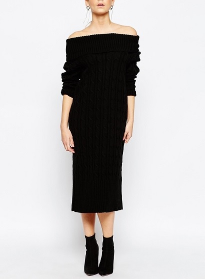 Boohoo Maxi Cable Knit Dress, $44.97, asos.com