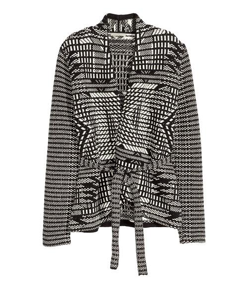 Jacquard-Knit Cardigan, $39.99, hm.com