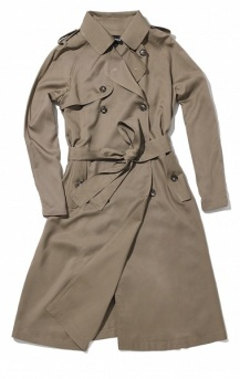 Drapey Camel Trench, $49.99, target.com