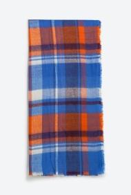Check Scarf, $19.99, zara.com
