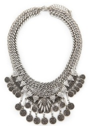 Coins Statement Necklace Set, $18.90, forever21.com