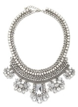 Faux Gem Statement Necklace, $22.90, forever21.com