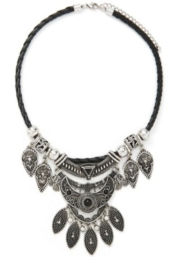 Tiered Statement Necklace, $13.90, forever21.com