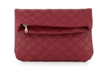 Madison Quilted Fold-Over Clutch, $28, lastcall.com