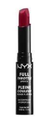 NYX Cosmetics Full Throttle Lipstick in Locked, $7, nyxcosmetics.com