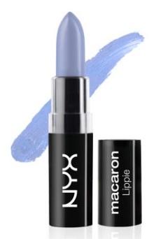 NYX Macaron Lippies in Earl Grey, $6, nyxcosmetics.com
