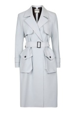Bonded Belted Truster Coat, $210, topshop.com