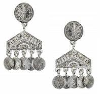 Engraved Disc Drop Earrings, $12, topshop.com