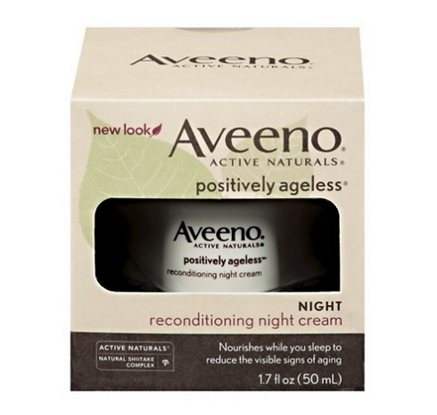 Aveeno Positively Ageless Reconditioning Night Cream, $20.99, target.com