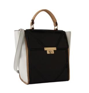 Brenda Patent Tote Bag, $39.80, meliebianco.com