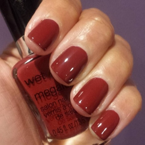Wet 'N Wild Megalast Nail Polish in Haze of Love