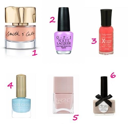 6 Spring Nail Colors You'll Love