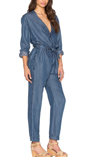 Free People 'Lou' Denim Jumpsuit, $97, revolve.com