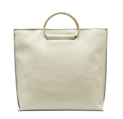 Brigitte Metal Handle Tote, $59.80, meliebianco.com