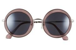 A.J. Morgan Clique 50mm Round Sunglasses, $24, nordstrom.com