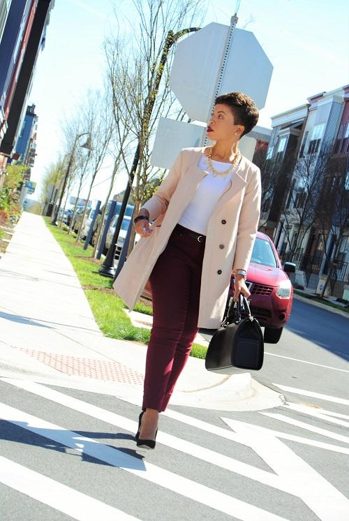 What I'm Wearing: A Swing Coat