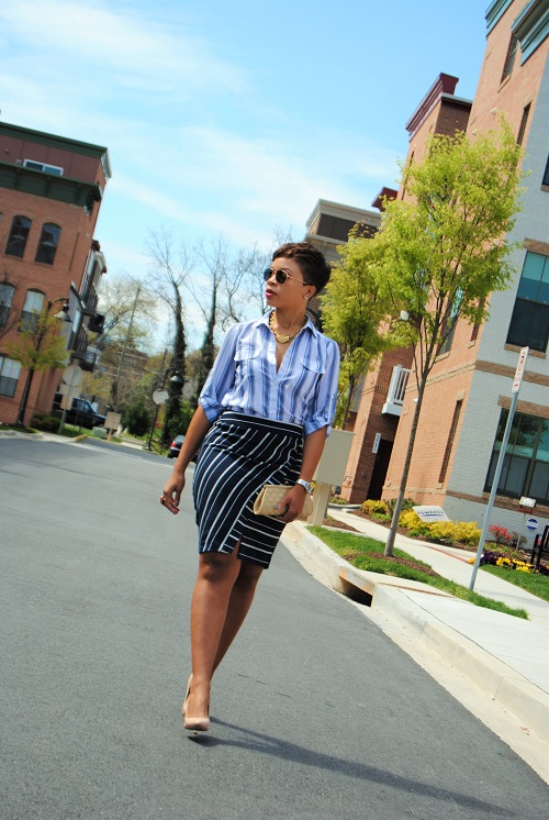 What I'm Wearing: Stripes