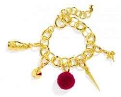 Three Wishes Charm Bracelet, $38, baublebar.com