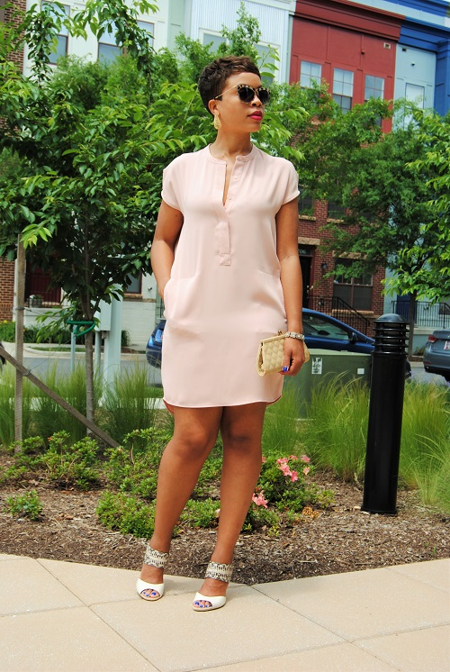 What I'm Wearing: High-Low Dress