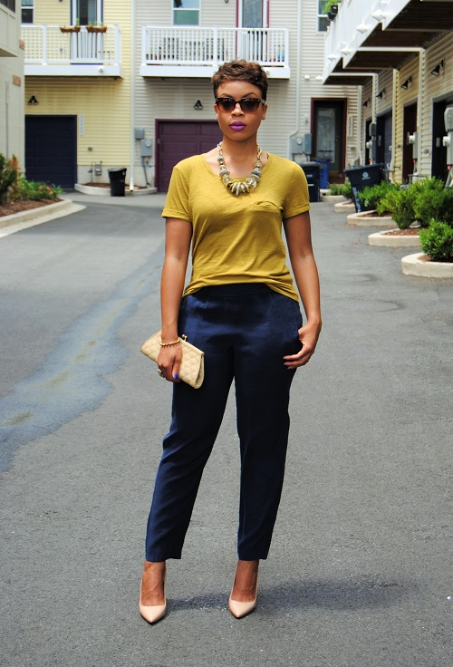What I'm Wearing: Slouchy Tee