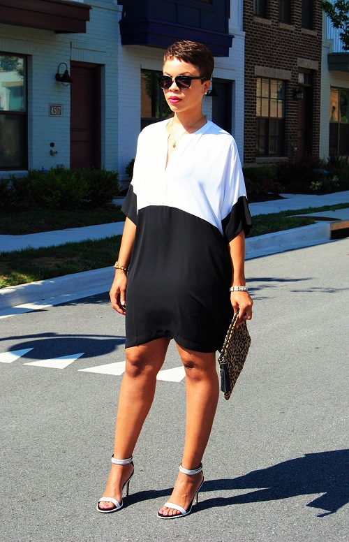 What I'm Wearing: Colorblock Dress